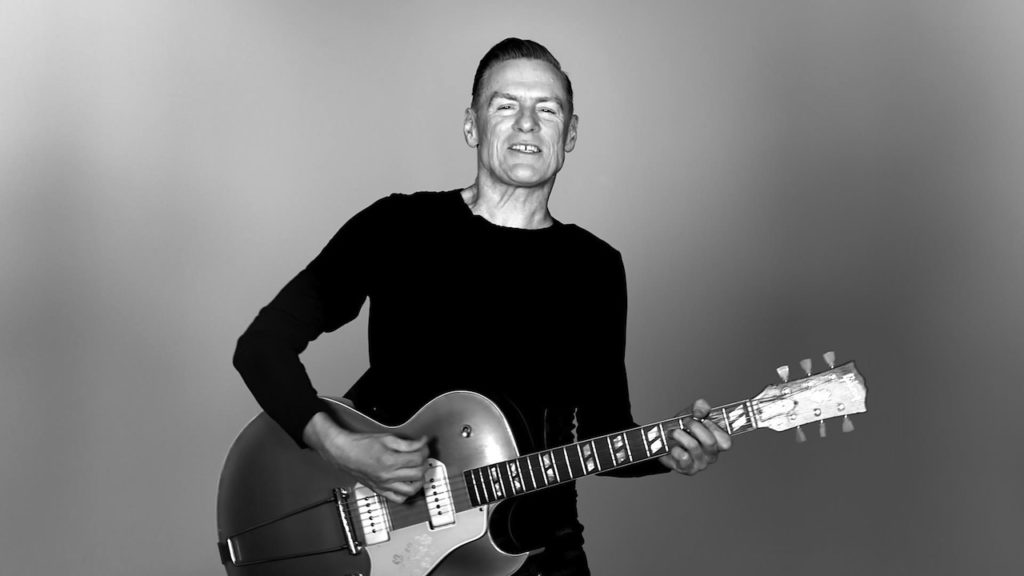 Bryan Adams putas a little Irish in it. Credit: Universal Music.