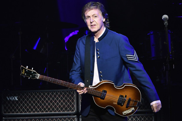 Paul McCartney. Credit: Getty Images