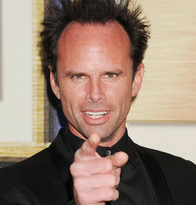 Walton Goggins gives us the finger Credit: Getty Images