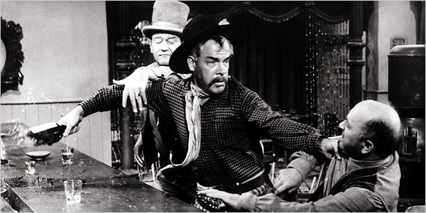 Lee Marvin gives it his best shot Credit: 20th Century Fox