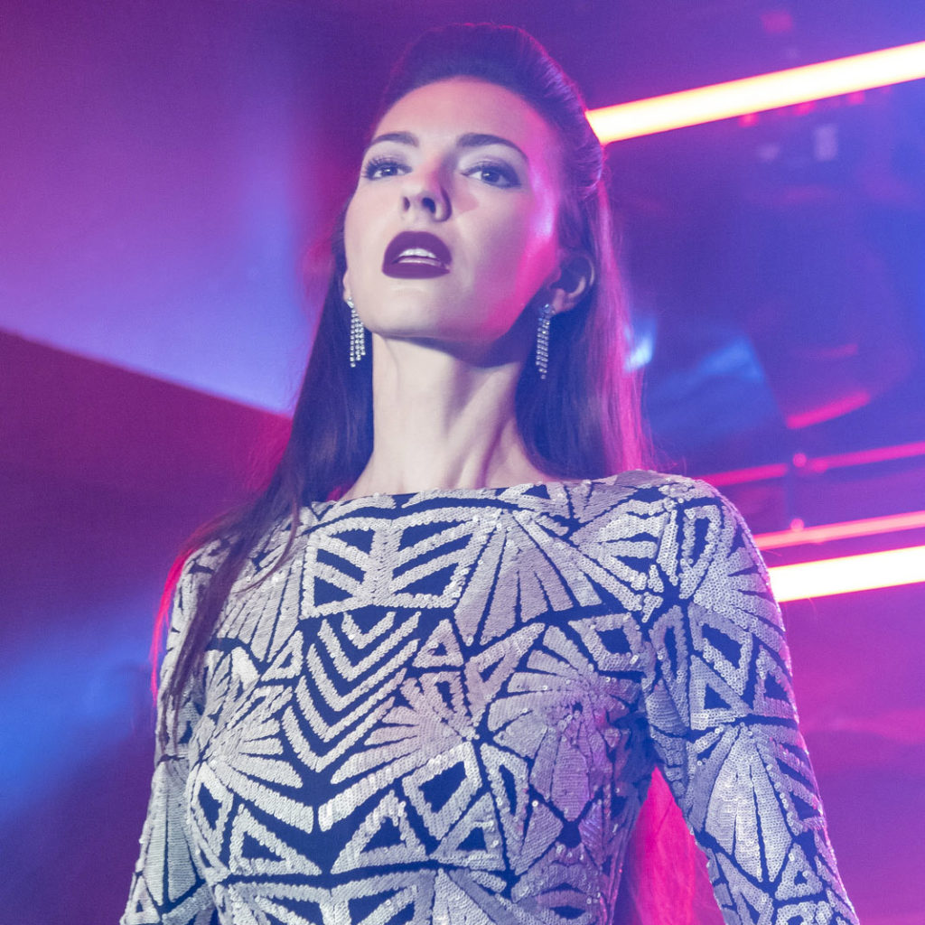 Chrysta Bell makes a scene Credit: Ralf Ehrhardt, Wikimedia Commons