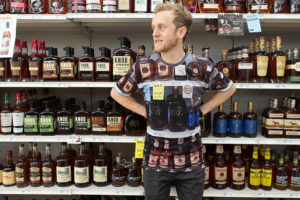 Part of the scenery: Bourbon Camouflage makes shopping seamless