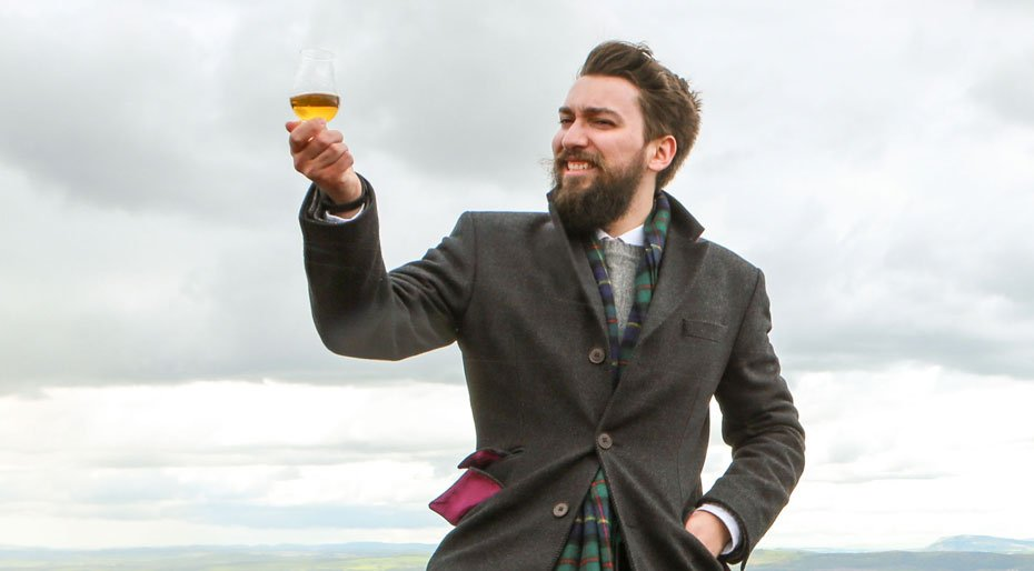 No, Blair Bowman, here's to you Credit: WorldWhisky Day