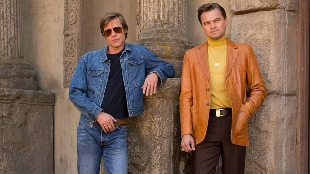 Brad and Leo dress the part Credit: Sony Pictures