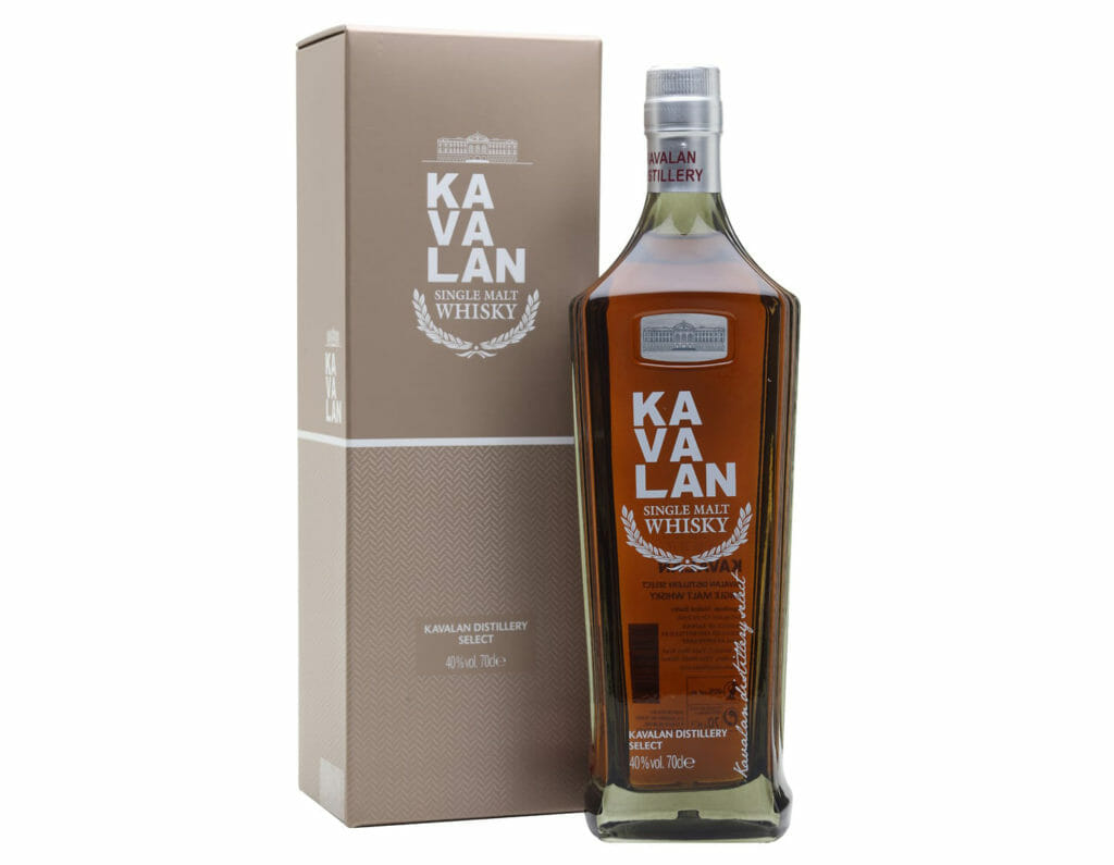 Distillery Select is your chance to visit Taiwan Credit: Kavalan