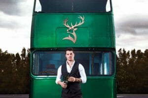 Sweet ride: Glenfiddich whisky bus pulls out all the stops