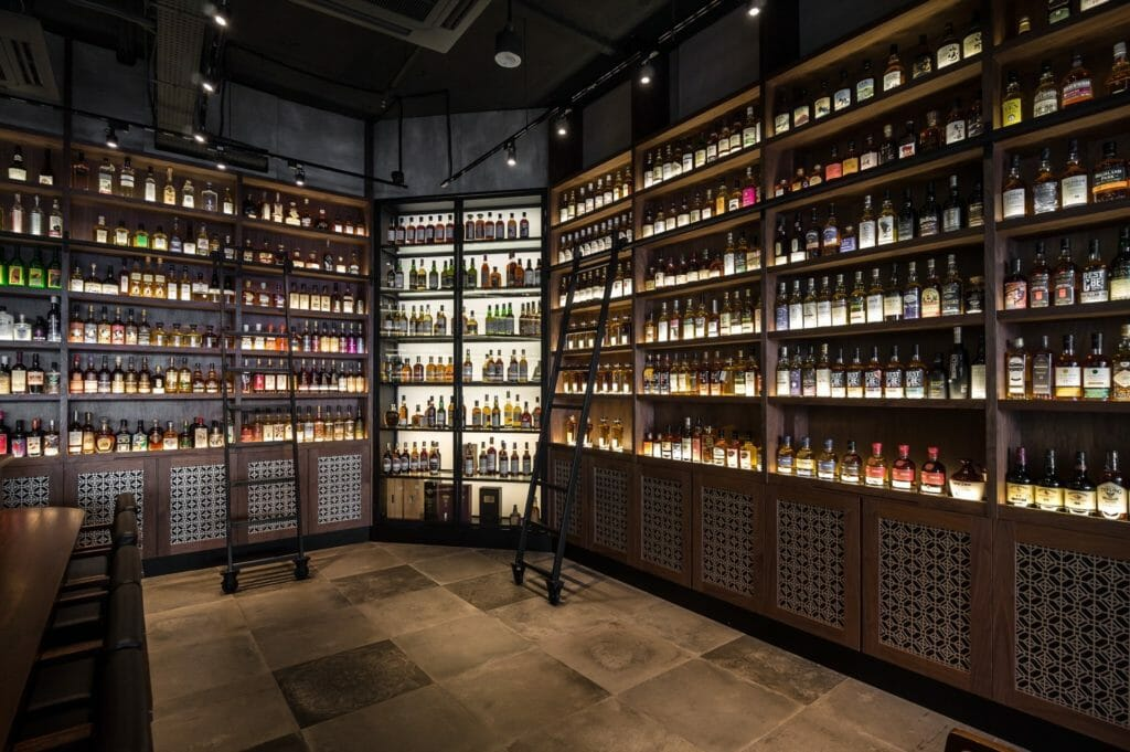 This stop has a top-shelf selection Credit: La Maison du Whisky